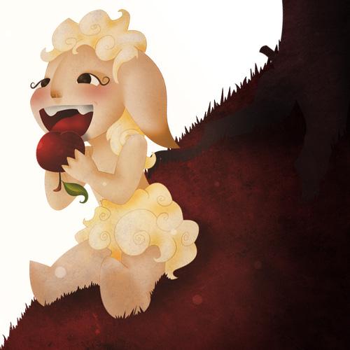 Illustration - Sheep Kid