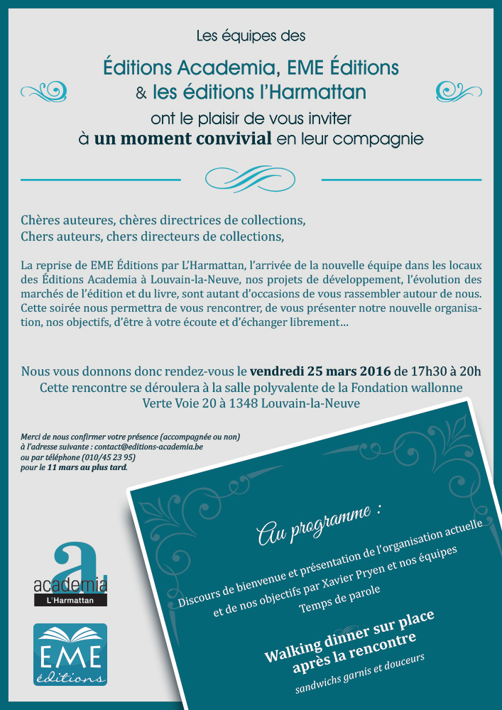 Invitation - Save the Date (Academia-EME)
