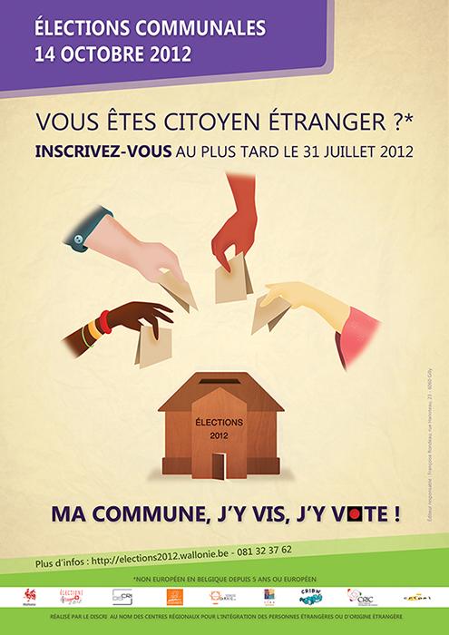 Affiches élections communales 2012